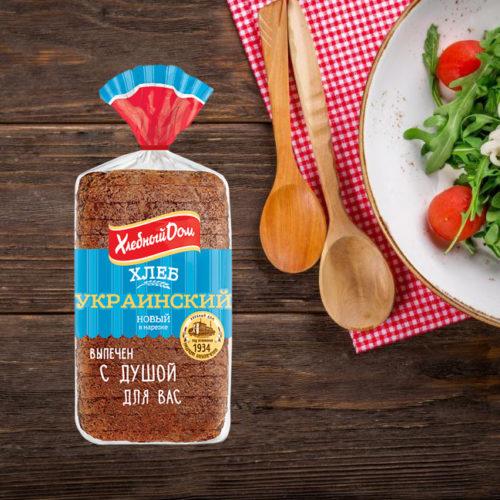 хлеб украинский хлебный дом