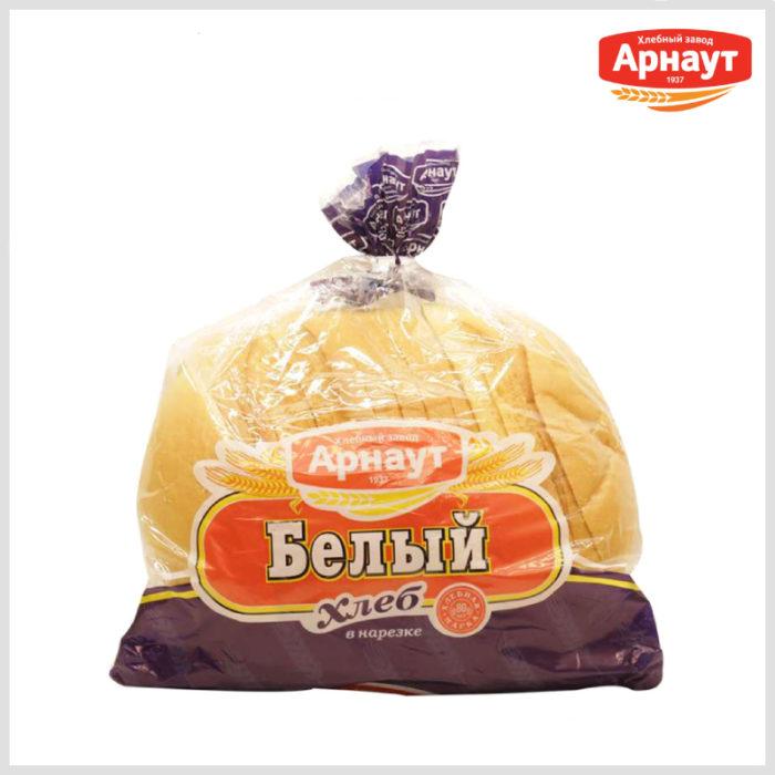 Арнаут Хлеб Белый круглый, 550 гр